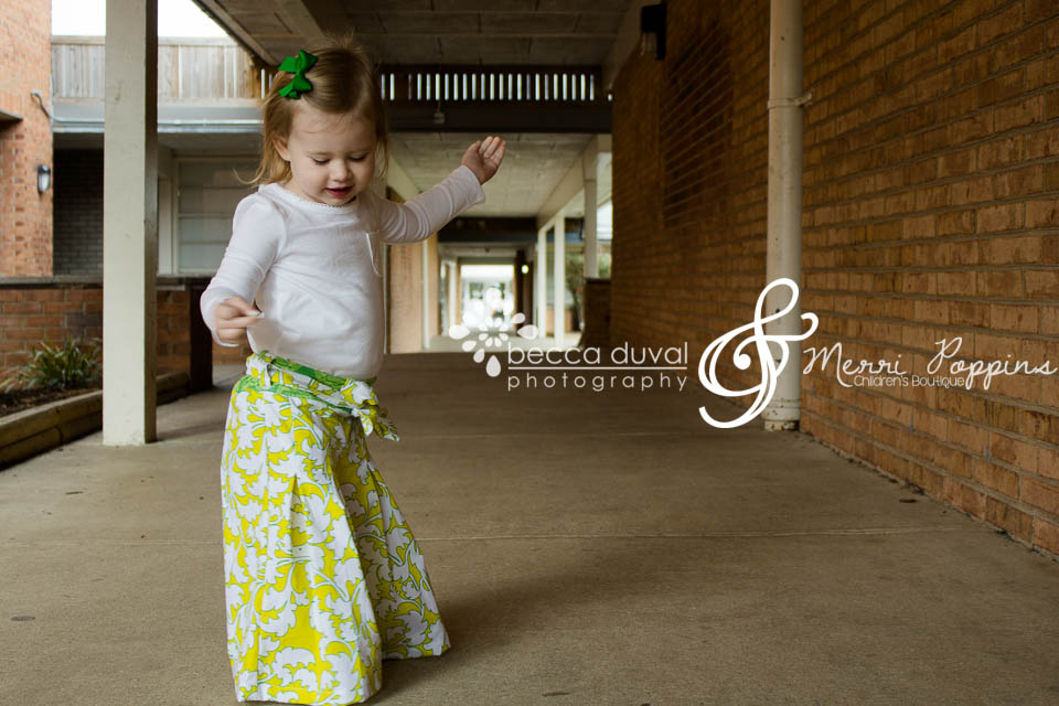 Avery had some serious dance moves, and loved showing them off in her new outfit!