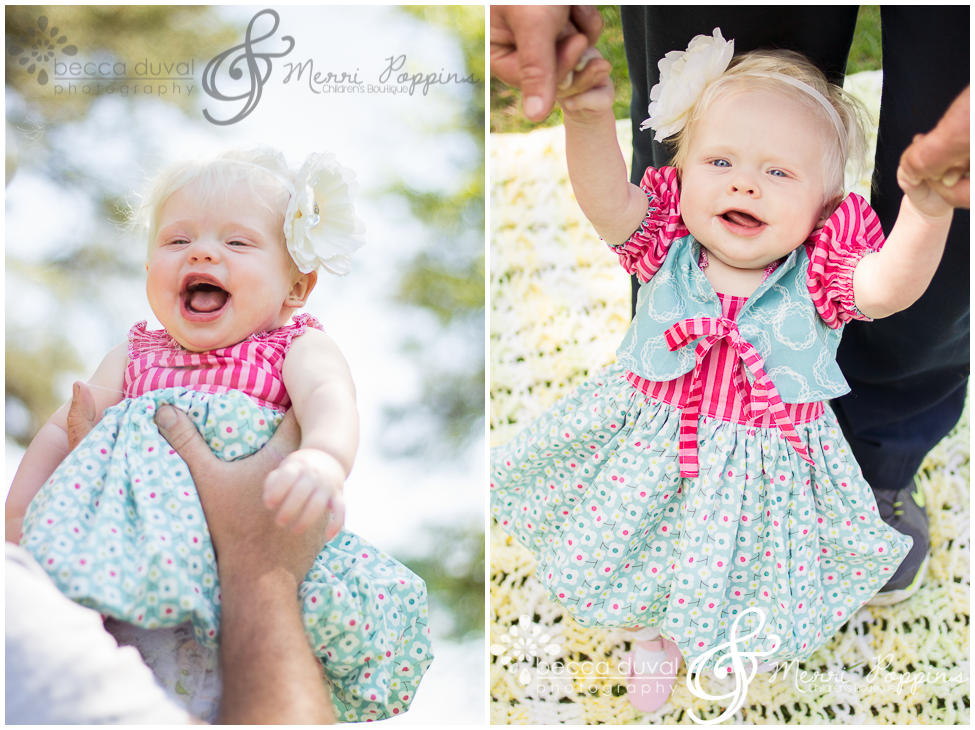 Meet Lenseay    the adorable gummy-grinned model of our Teagan's Bubble Dress and Bianca Bolero!