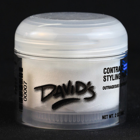 Contrast Syling Paste 2oz. Outrageous product used to create wispy, spiky, and piecy hair.  Use on wet or dry hair.