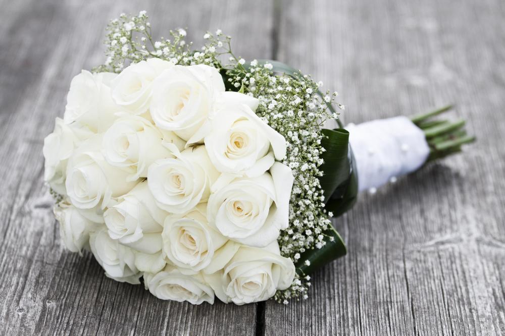 Example bridal boquet