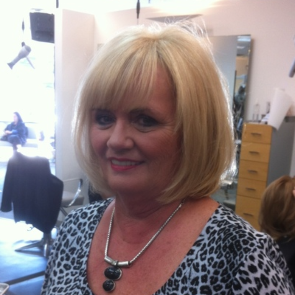 Val Val is the backbone of the David's Stylist team, and has been with the salon for over 41 years. She is the Head Colourist and has learned from some of the finest brands in the industry, including Wella and Goldwell. She hails from Germany with a strong work ethic and a passion for her craft attending more educational venues then one can count.