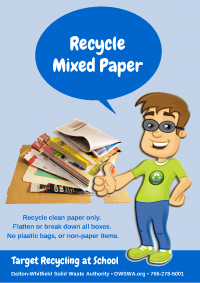 Recycle Mixed Paper