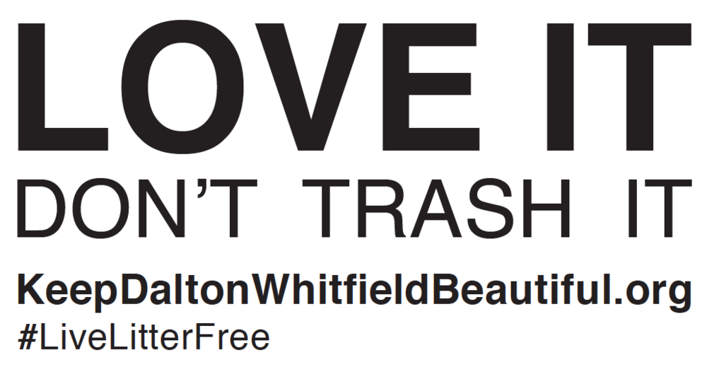 Litter Prevention Dalton Whitfield Solid Waste Authority