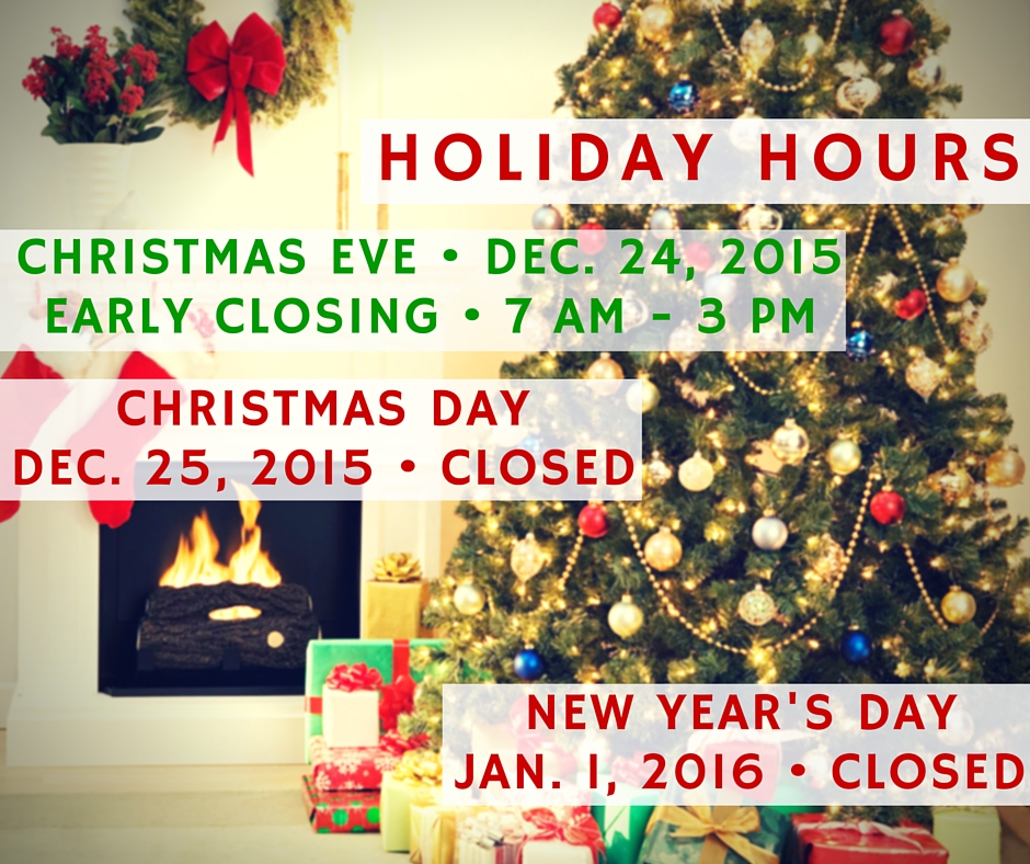 Landfill, Convenience Centers Holiday Hours for Christmas ...