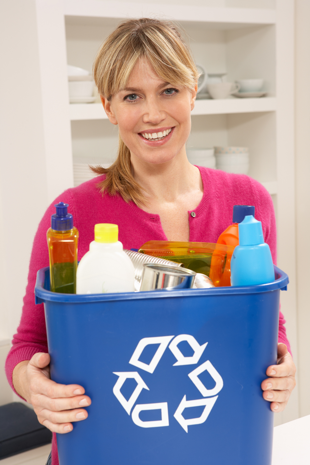 Recycling is an easy thing anyone can do to help conserve natural resources. Residents can recycle common household product packaging like plastic bottles and jugs, and bi-metal cans.