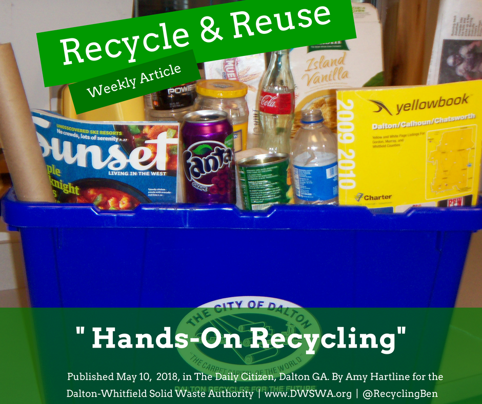 Hands-On Recycling — Dalton-Whitfield Solid Waste Authority