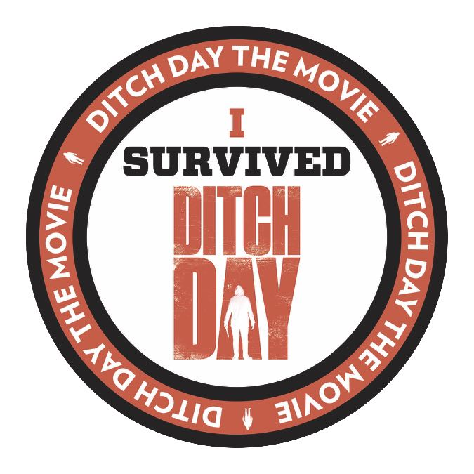 I survived Ditch Day Sticker