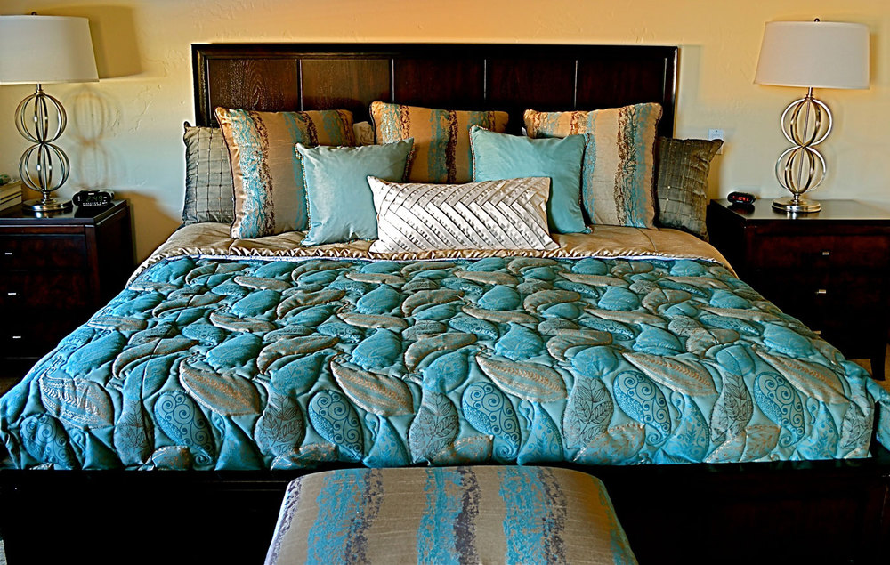 Quilted Fitted Bedspreads