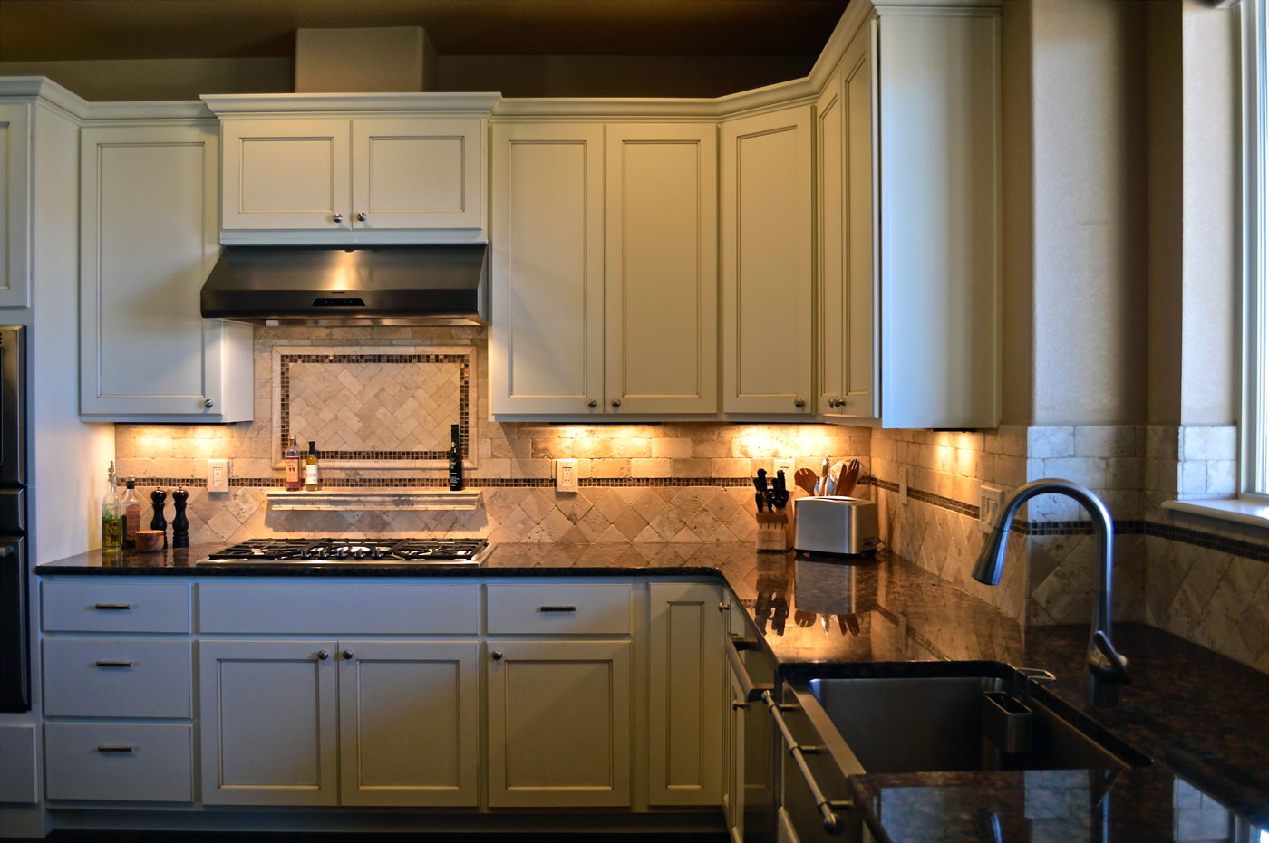 Tile Colorado Springs Custom and Model Home Interior Design and