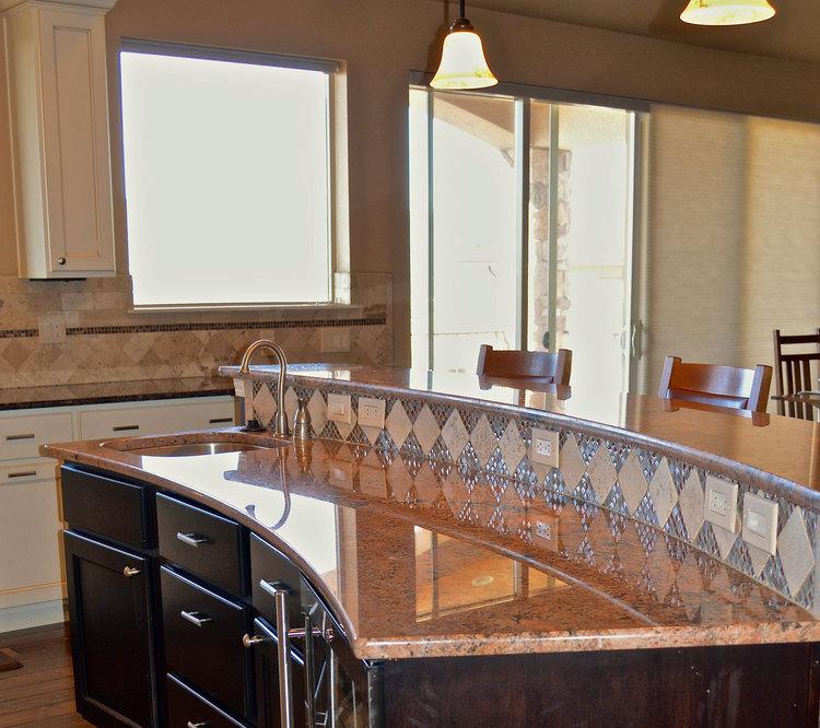 Custom Interior Design Model kitchen — colorado springs custom and model home interior design