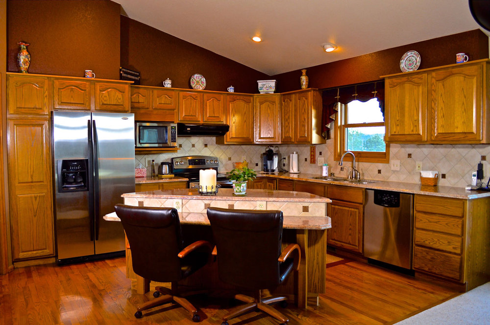Kitchen Colorado Springs Custom and Model Home Interior Design and