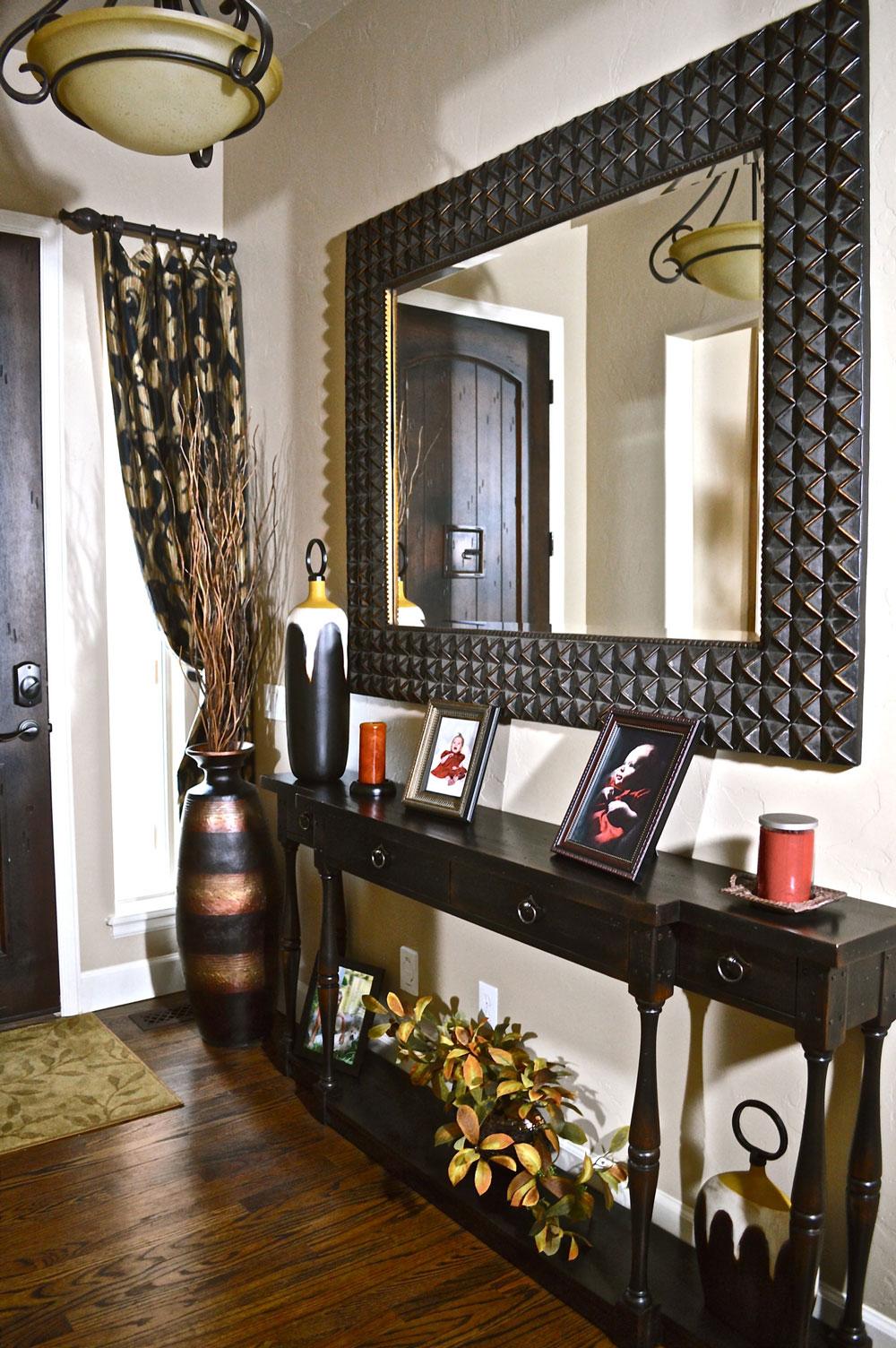 Furniture, Accessories, Drapery added
