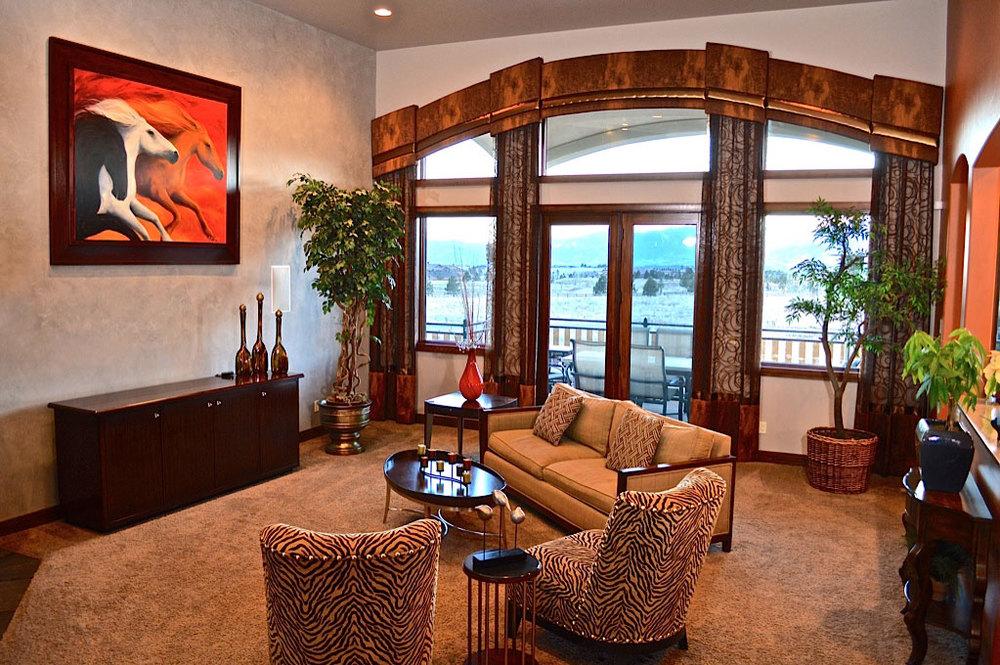 Custom Interior Design Model custom high quality window coverings — colorado springs custom and
