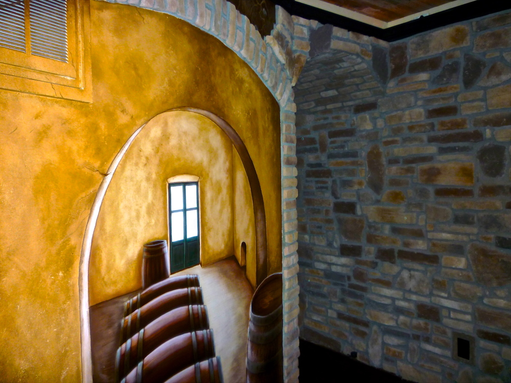 Paint colorado springs custom and model home interior for Wine cellar paint colors