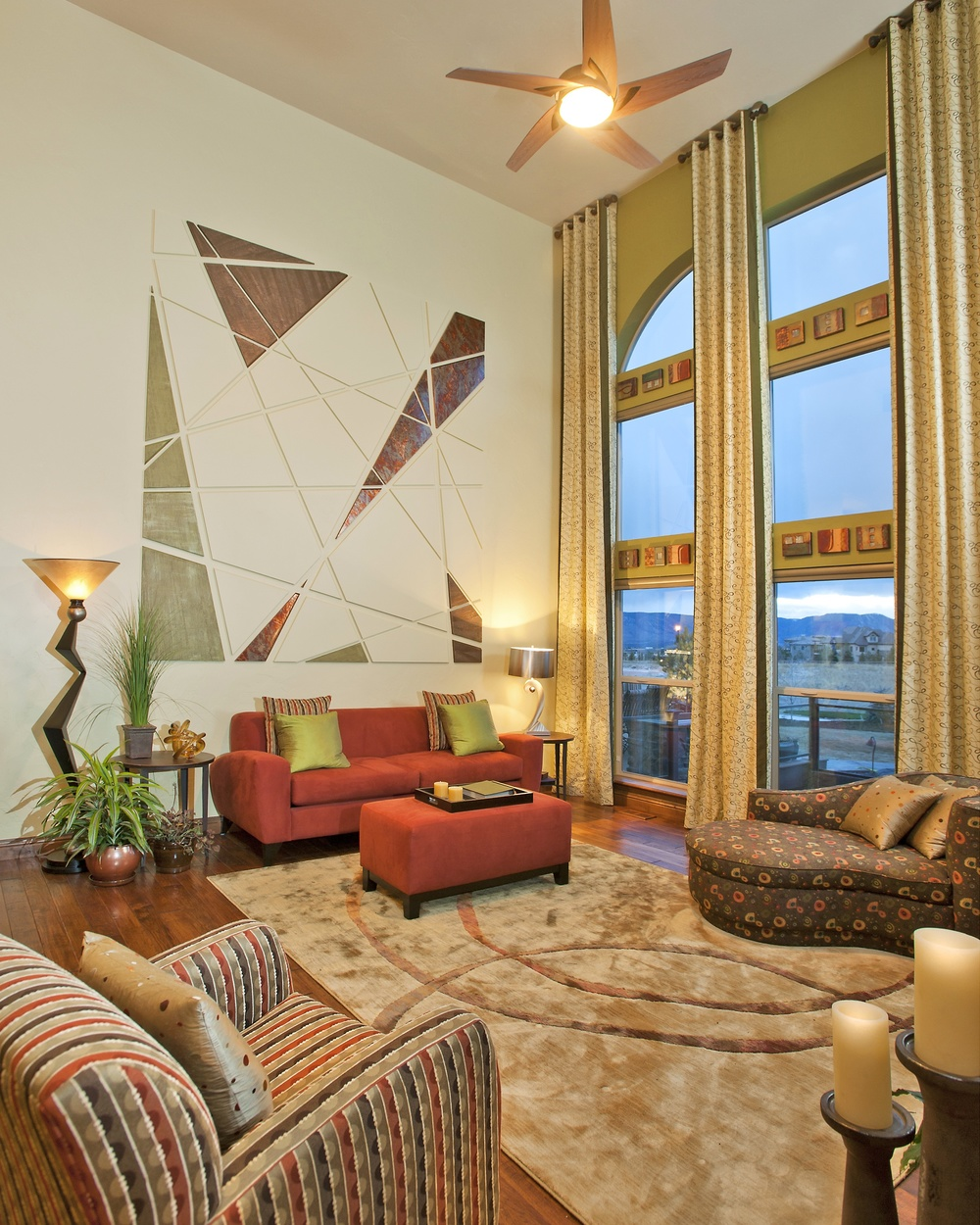 Paint Colorado Springs Custom and Model Home Interior Design and