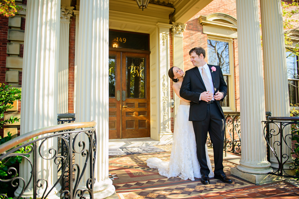 David davis mansion wedding