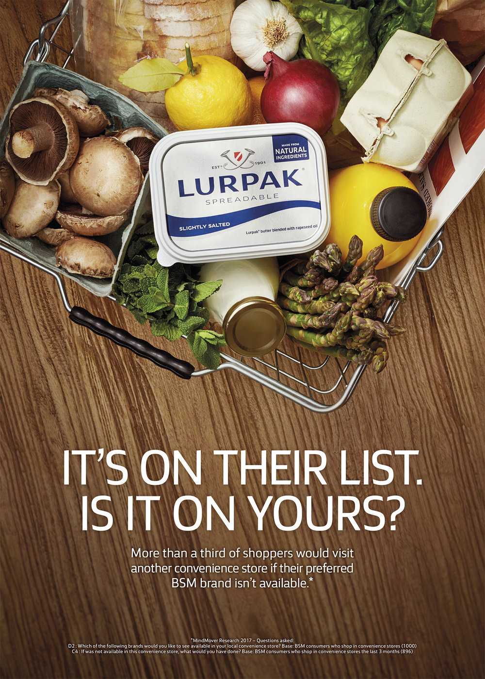 Lurpak trade food photography advertising campaign