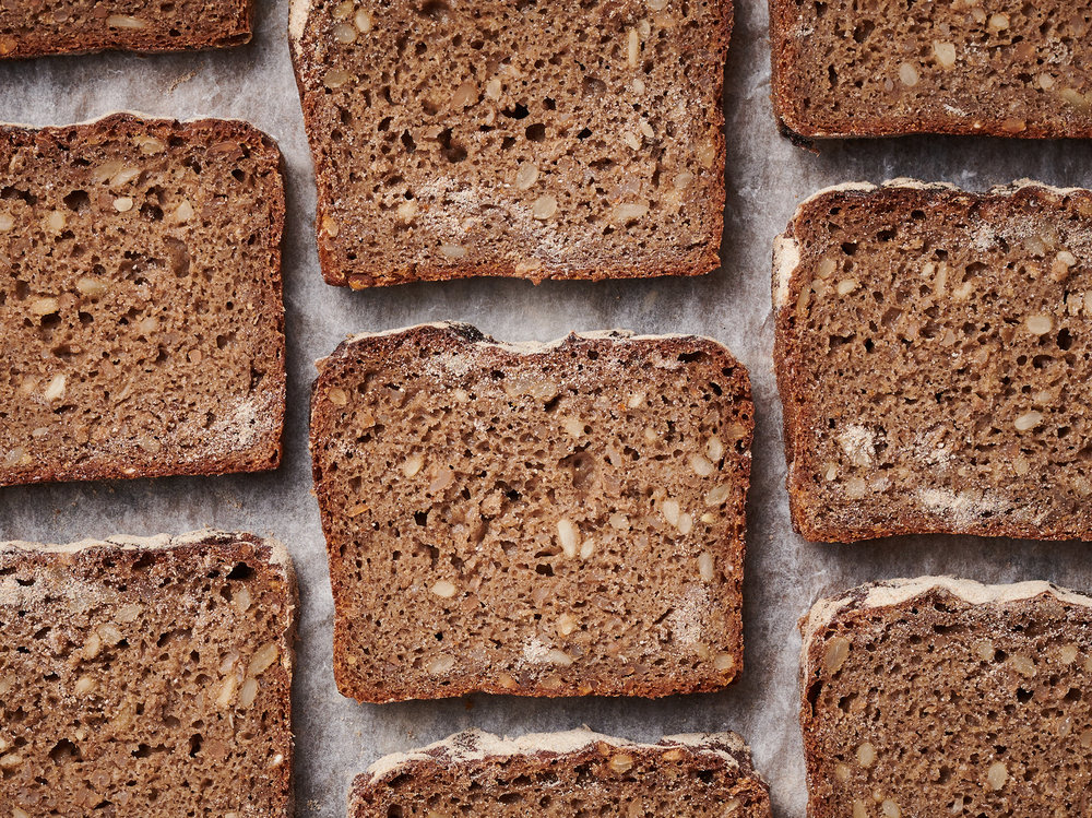 rye bread by food photographer Holly Pickering