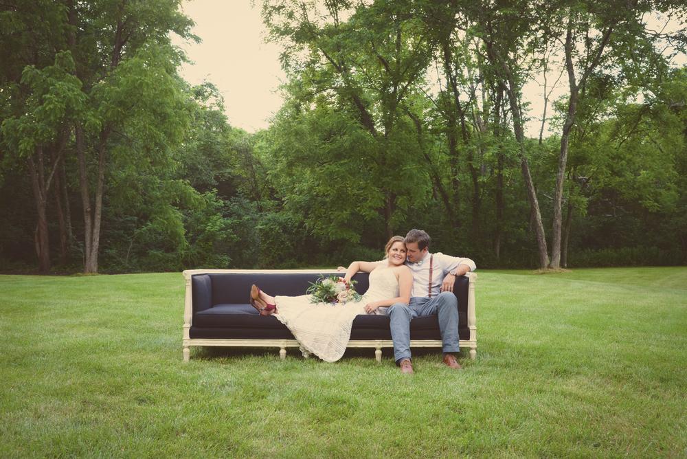 Backyard Wedding Planner Part - 28: St Louis Wedding Lounge Couple Photo Just Married