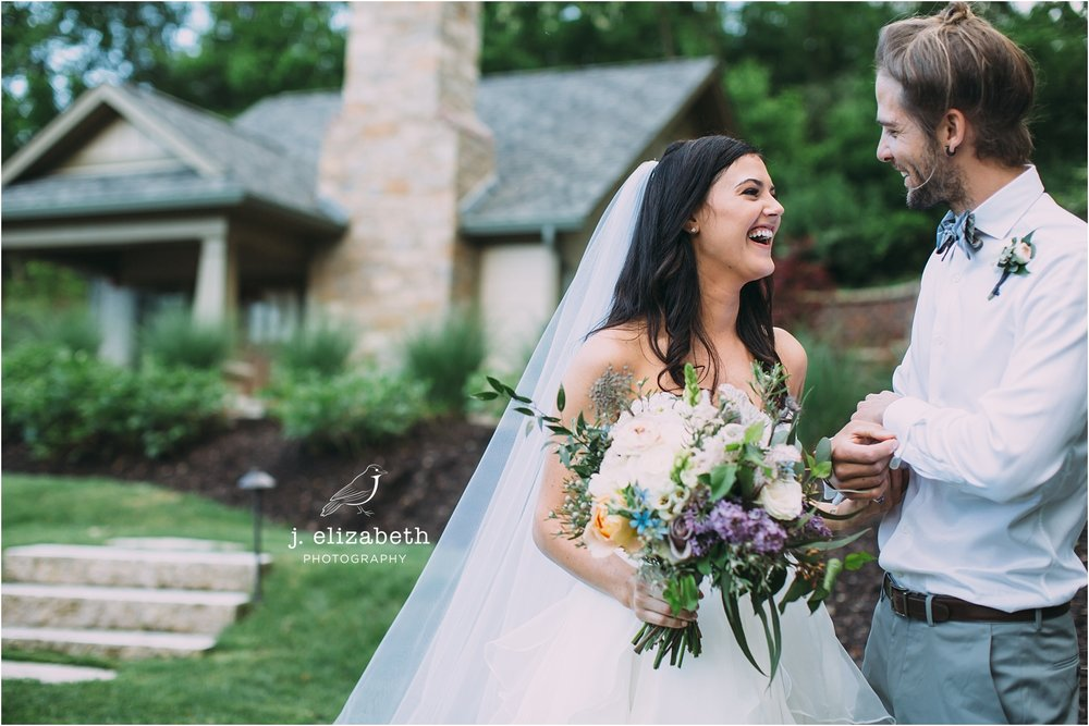 style altard st louis wedding happy couple