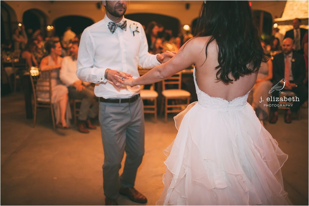 style altard st louis wedding frist dance