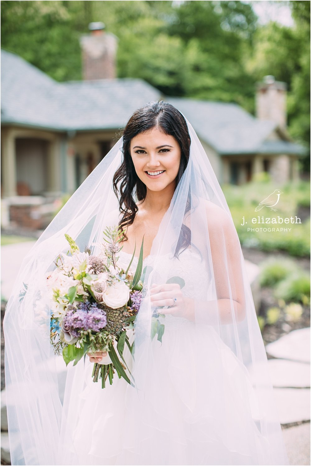 style altard st louis wedding bridal beauty shot