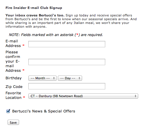Personalized email signup forms help you create more effective marketing campaigns.