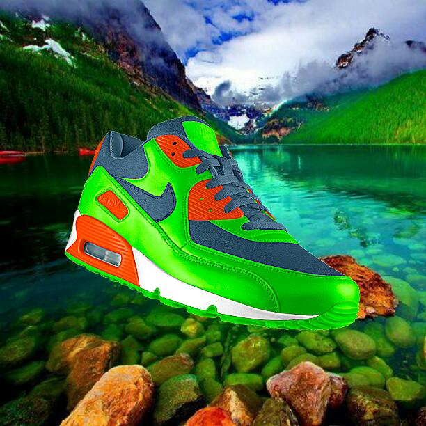 Nike's PHOTOID system takes users' Instagram images and creates custom shoe designs based on the image, like this one from user @jrjcade
