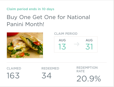 """Stone Hearth Pizza used the trigger of """"National Panini Month"""" to get existing customers to try something different."""