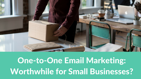 Small business one to one email marketing