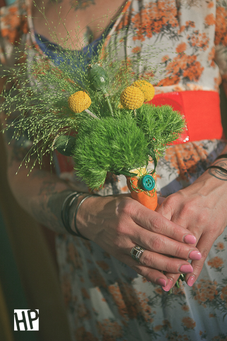Green Trick Bouquet