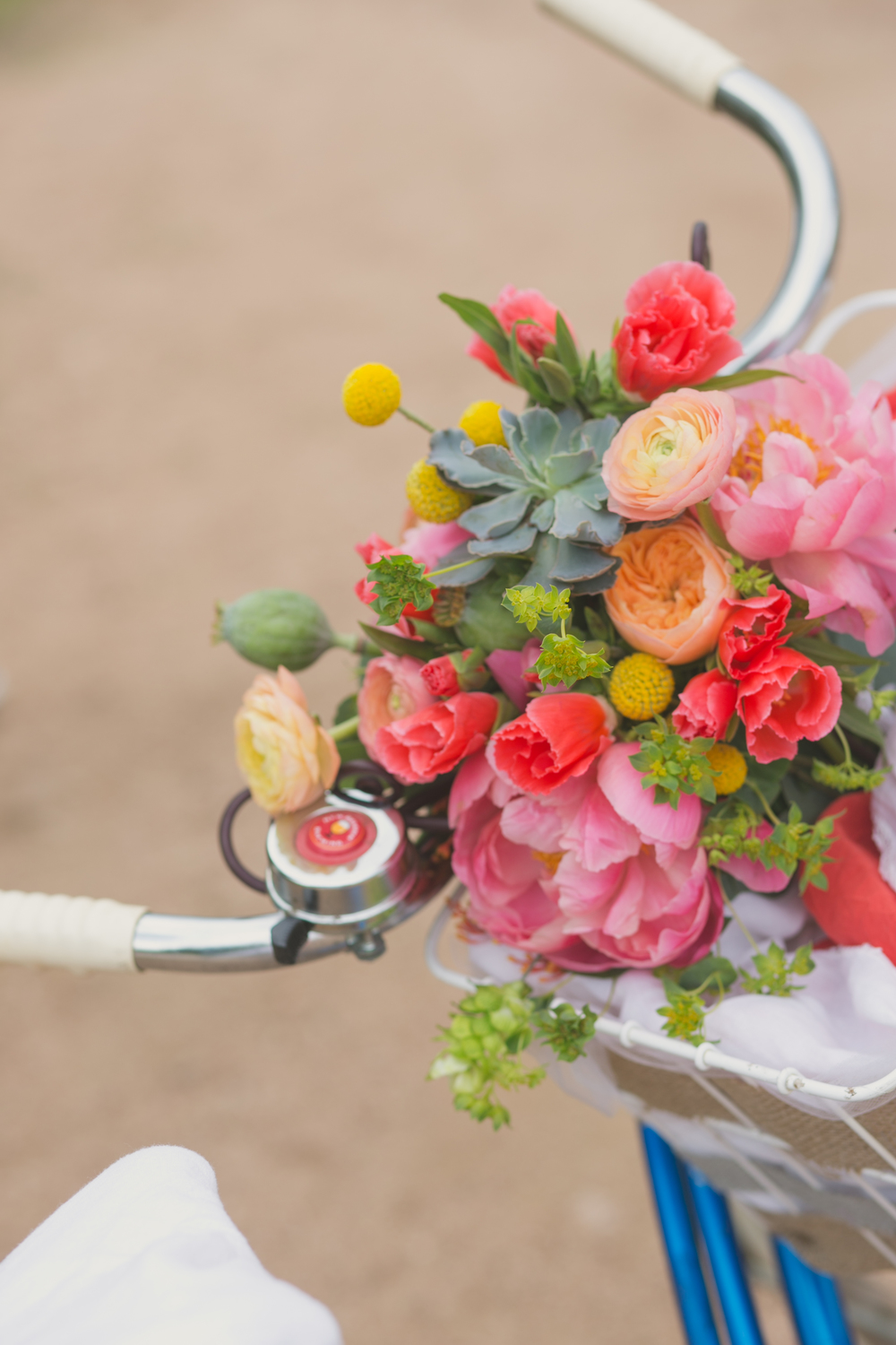 Flowers by Lace and Lilies - Succulent Bouquet - Colorful Bouquet - Colorado Wedding - Pink Bouquet