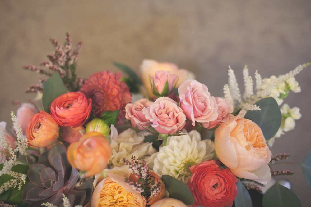 Flowers by Lace and Lilies - Succulent Bouquet - Colorful Bouquet - Gorgeous Bouquet - Colorado Wedding - Ranunculus Bouquet - Spray Rose