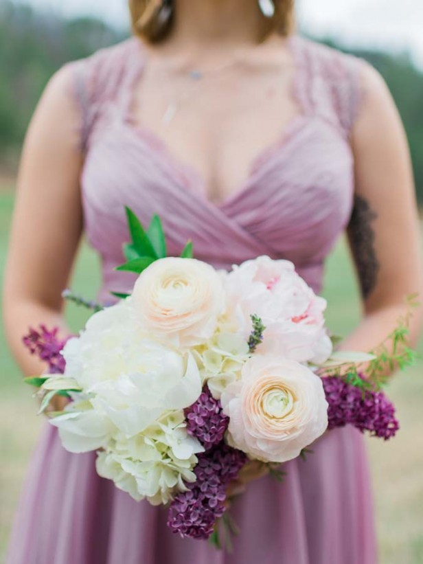 Flowers by Lace and Lilies, Colorado Wedding, Purple Wedding, Bridesmaids Bouquet, Woodland Wedding,