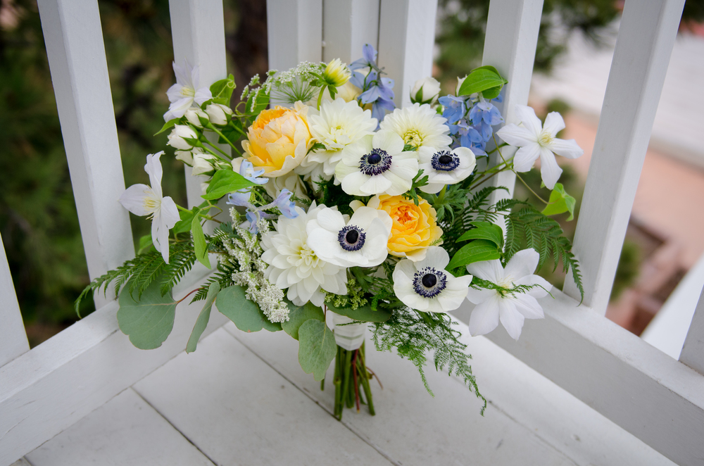 Flowers by Lace and Lilies, Bridal Bouquet, Anemone Bouquet, Spring Wedding, Wedding Flowers, Colorado Wedding