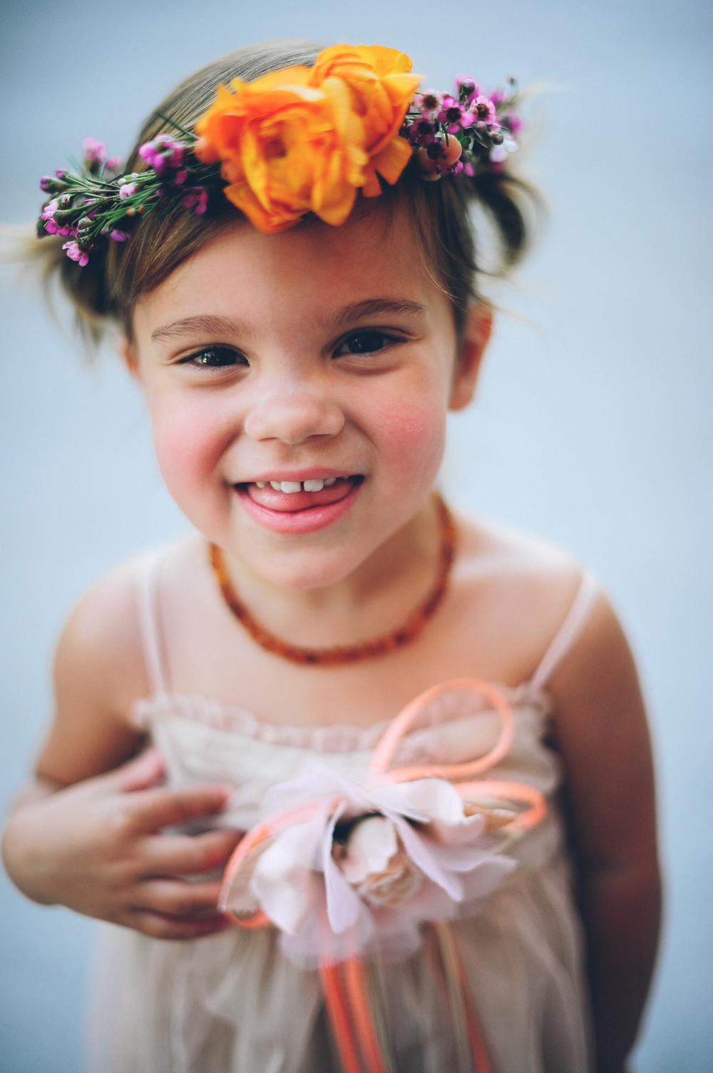 Flowers by Lace and Lilies, Flower Girl Halo, Flower Crown, Brewery Wedding