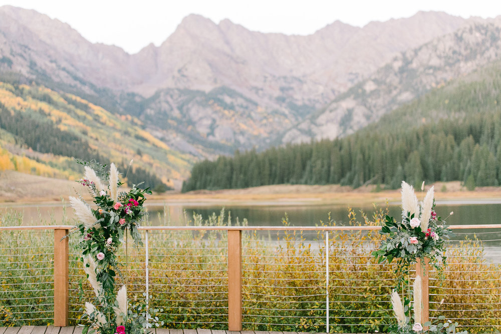 Flowers by Lace + Lilies, wedding flowers, welcome sign, reception flowers, fall wedding, fall flowers, greenery, foliage, centerpiece, ceremony flowers, gold stands, pampas grass