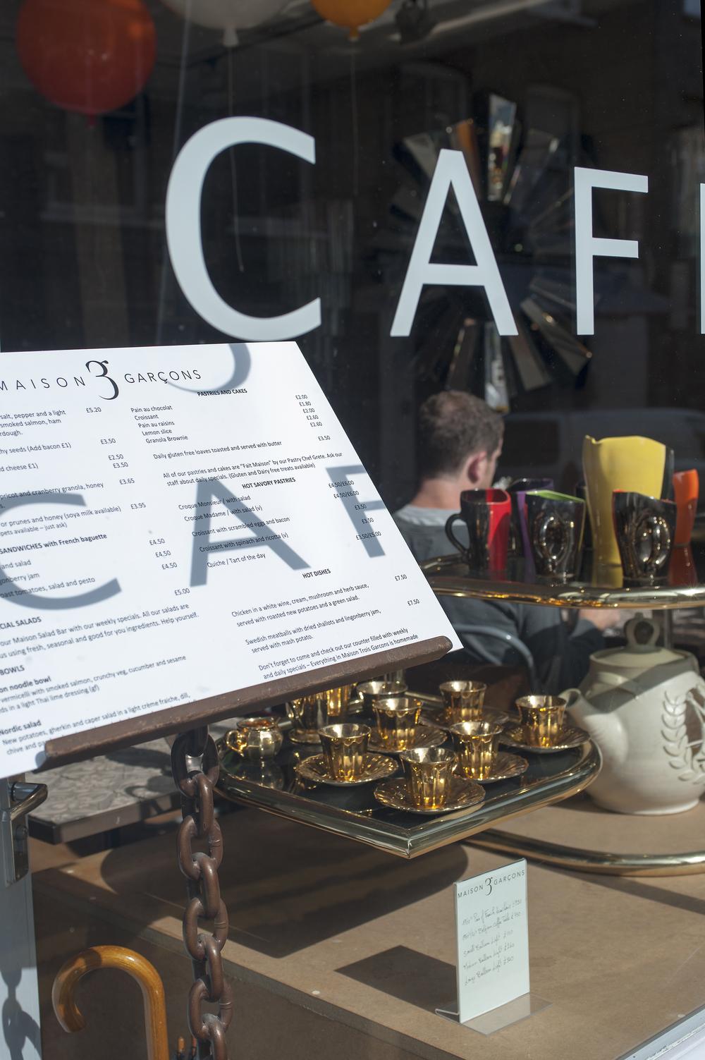 Les Maison Trois Garçons shop and café