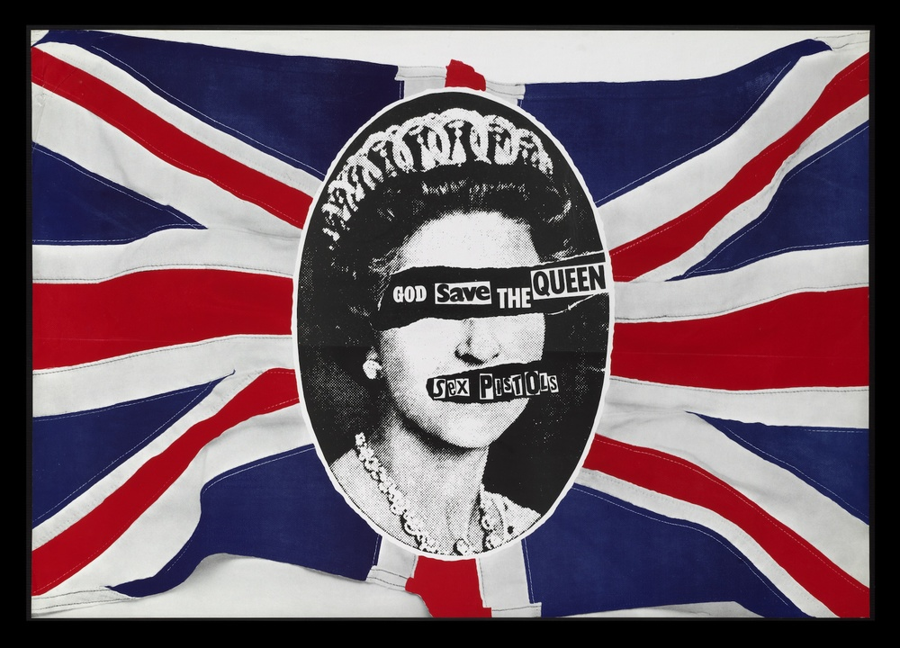 God Save the Queen poster by Jamie Reid
