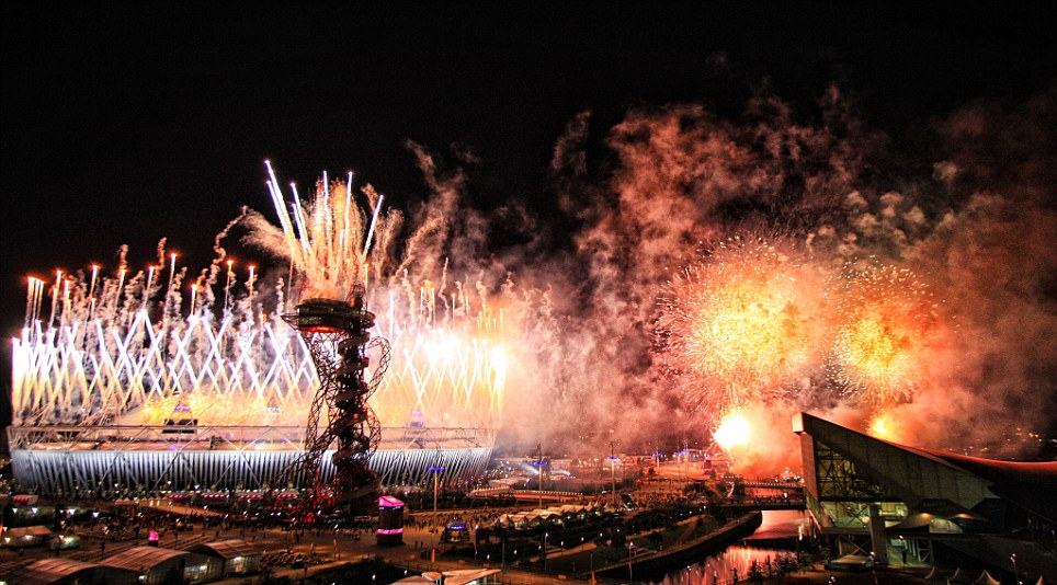 The Arcelor-Mittal Orbit in stratford will stay open late on saturday to provide a panorama of east london's fireworks