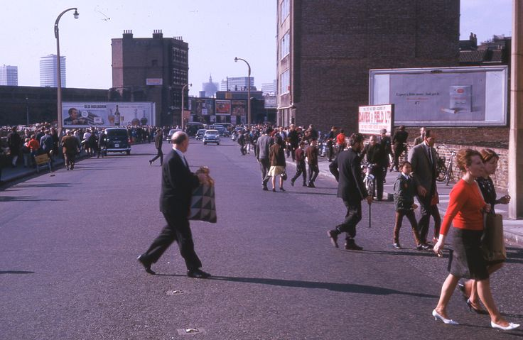 Bethnal Green Road, 1965