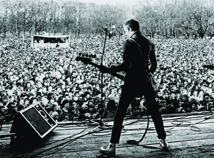 30th April 1978: 80,000 people attend a huge Anti-Nazi League concert in Victoria Park