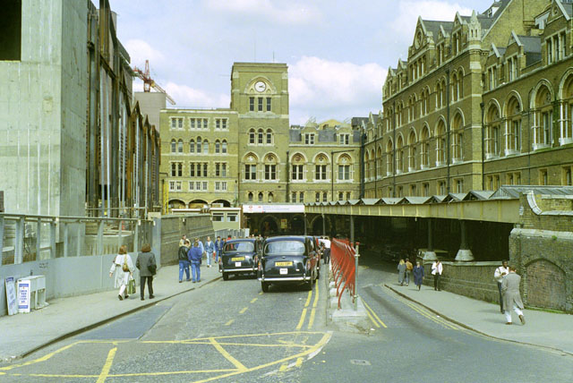 Liverpool Street Station, 1988