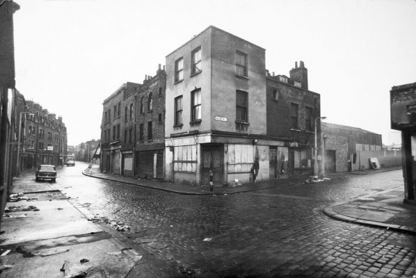 Desolate Cheshire Street, 1973