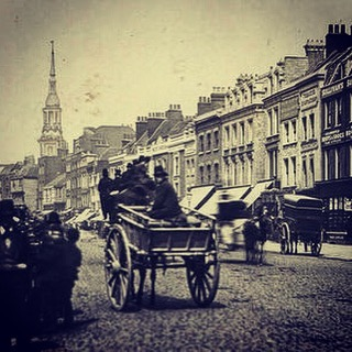 Heading up #Shoreditch High Street today, see who you're following. #history #hackney