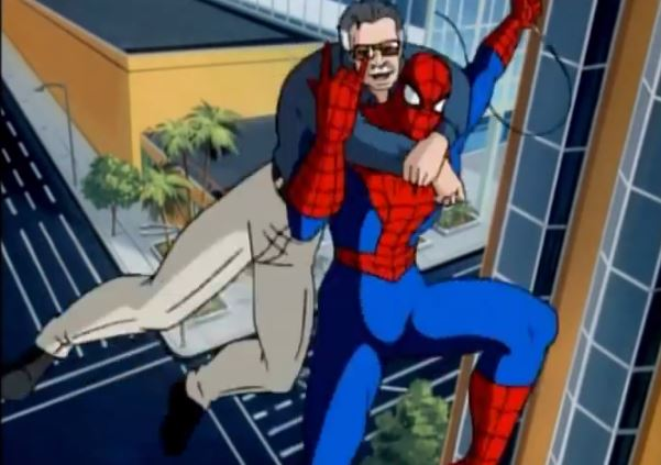 A Stan Lee cameo has neither been confirmed nor denied. Don't ask me why I decided to fixate on this episode!