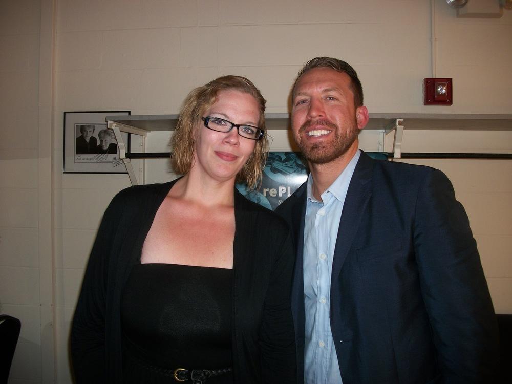 Rachel with Jason Michael Paul