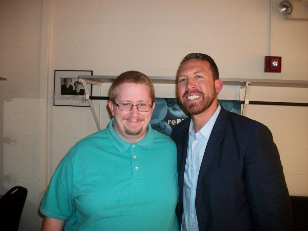 CJ with Jason Michael Paul