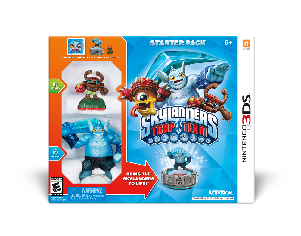 Skylanders Trap Team 3DS starter kit