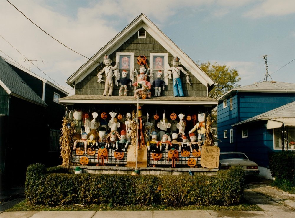 Marion Faller | Betty Kasprzyk's Halloween Display
